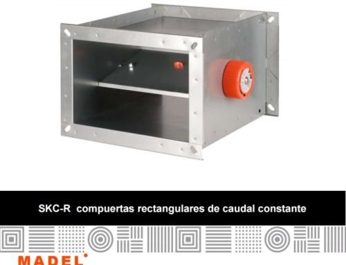 ISE presenta Compuertas de caudal constante de alta presión SKC-R de MADEL