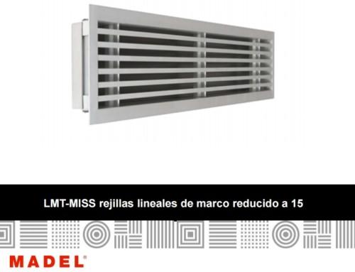 ISE presenta las nuevas rejillas lineales LMT-MISS de MADEL